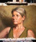 Sommerportrait in Öl in 4 Stunden